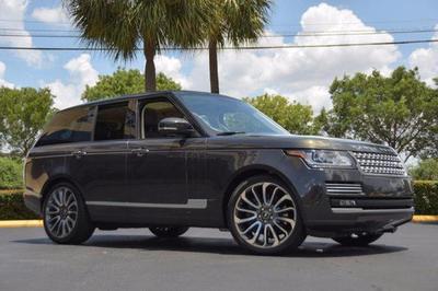2014 Land Rover Range Rover 5.0L Supercharged Autobiography for sale VIN: SALGV2TF0EA177475