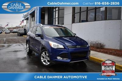 2014 Ford Escape Titanium for sale VIN: 1FMCU0JX7EUA70345