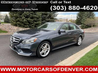 Mercedes-Benz E-Class 2014 for Sale in Englewood, CO
