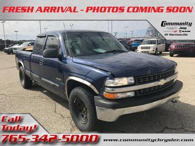 2000 Chevrolet Silverado 1500  for sale VIN: 2GCEK19VXY1164778