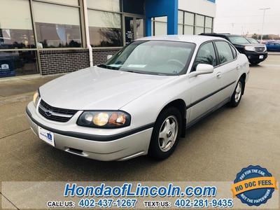 Chevrolet Impala 2003 for Sale in Lincoln, NE