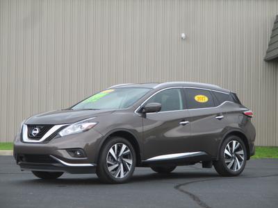 2017 Nissan Murano Platinum for sale VIN: 5N1AZ2MH5HN162402