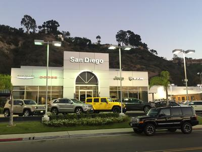 Jeep Dealership San Diego >> San Diego Chrysler Dodge Jeep Ram In San Diego Including Address
