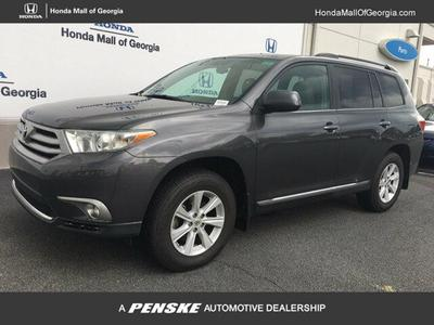 2012 Toyota Highlander  for sale VIN: 5TDZK3EHXCS057938