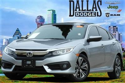 2017 Honda Civic EX-L for sale VIN: 19XFC1F7XHE005091