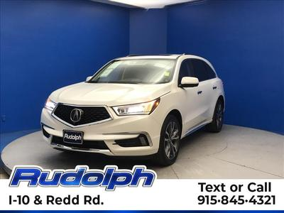 2019 Acura MDX 3.5L w/Advance & Entertainment image