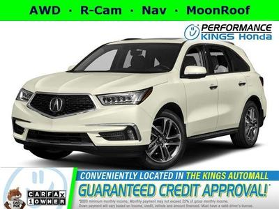 2017 Acura MDX 3.5L w/Advance Package for sale VIN: 5FRYD4H82HB002725