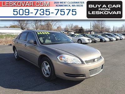 Chevrolet Impala 2007 a la venta en Kennewick, WA