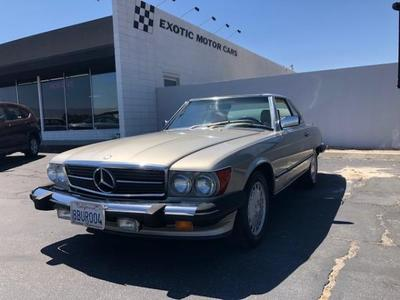 Mercedes-Benz SL-Class 1989 for Sale in Palm Springs, CA