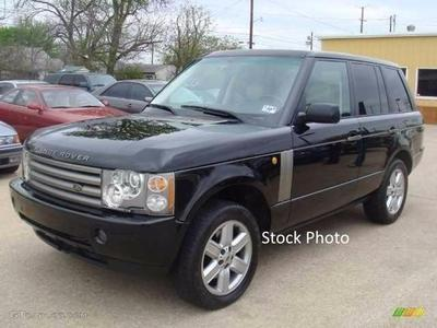 2003 Land Rover Range Rover HSE for sale VIN: SALMB11483A116461