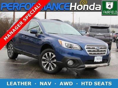 2016 Subaru Outback 2.5i Limited for sale VIN: 4S4BSBNC3G3247048