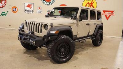 2018 Jeep Wrangler Unlimited Sport for sale VIN: 1C4HJXDG2JW226684
