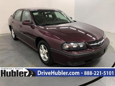2003 Chevrolet Impala LS for sale VIN: 2G1WH52K139307744