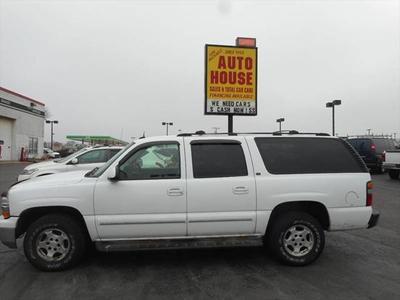 2004 Chevrolet Suburban 1500 LT for sale VIN: 1GNFK16Z94J112657