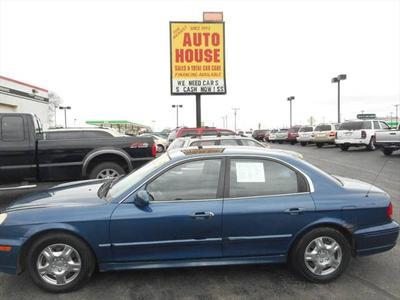 2003 Hyundai Sonata  for sale VIN: KMHWF25H13A851558