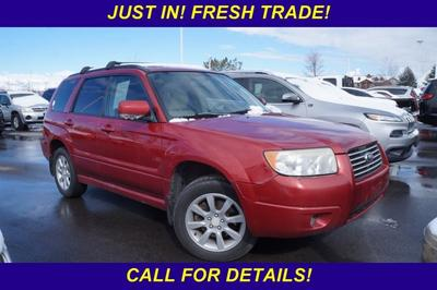 2007 Subaru Forester  for sale VIN: JF1SG65627H718591