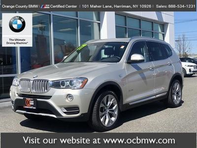 BMW X3 2017 for Sale in Harriman, NY