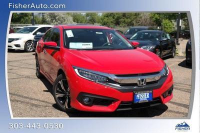 2018 Honda Civic Touring for sale VIN: JHMFC1F9XJX010863