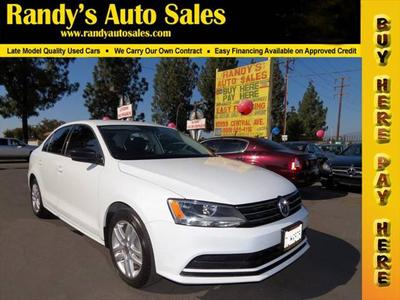 2015 Volkswagen Jetta Man S for sale VIN: 3VW1K7AJ9FM351443