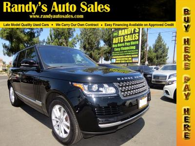 Land Rover Range Rover 2017 for Sale in Ontario, CA