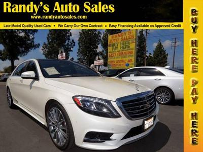 2016 Mercedes-Benz S-Class S 550 for sale VIN: WDDUG8CB7GA208511
