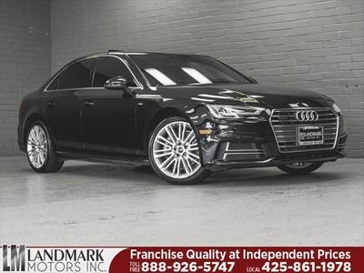 Audi A4 2017 for Sale in Bellevue, WA