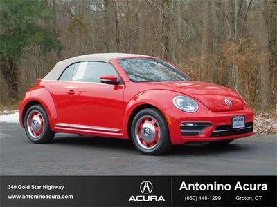 2018 Volkswagen Beetle 2.0T SE for sale VIN: 3VW5DAAT3JM504448