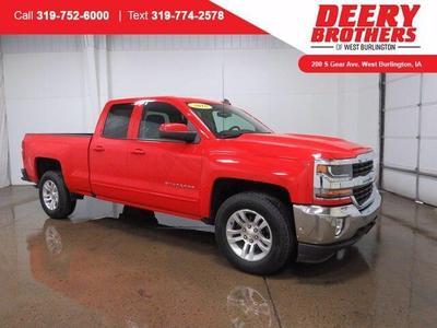 Chevrolet Silverado 1500 2018 for Sale in West Burlington, IA