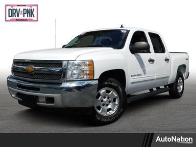 2012 Chevrolet Silverado 1500 LT for sale VIN: 1GCPKSE71CF237835