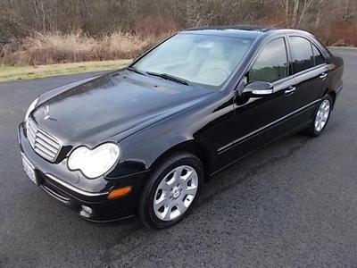 2005 Mercedes-Benz C-Class C240 4MATIC for sale VIN: WDBRF81J75F645436