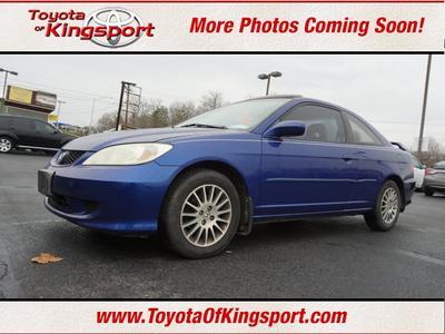 2005 Honda Civic EX for sale VIN: 1HGEM22915L002641