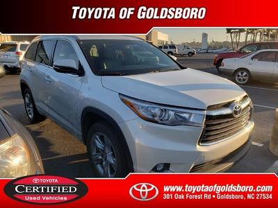 2016 Toyota Highlander  for sale VIN: 5TDYKRFH8GS129545