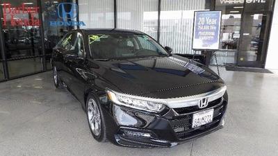 2018 Honda Accord EX-L for sale VIN: 1HGCV1F55JA050798