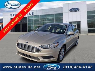 Ford Fusion 2017 a la venta en Tahlequah, OK