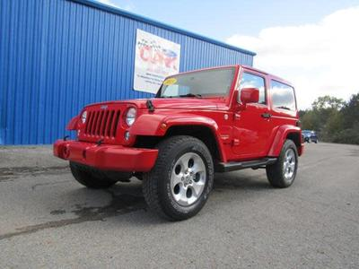 2015 Jeep Wrangler Sahara for sale VIN: 1C4GJWBGXFL508430