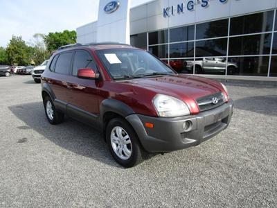 2007 Hyundai Tucson GLS for sale VIN: KM8JN12D97U521678