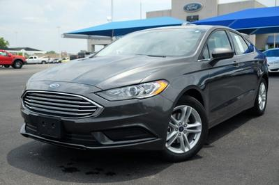2018 Ford Fusion SE for sale VIN: 3FA6P0HD4JR260180