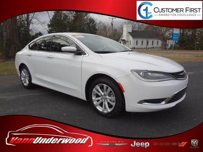 2017 Chrysler 200 Limited for sale VIN: 1C3CCCABXHN508792