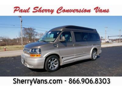 2017 Chevrolet Express 2500 Work Van for sale VIN: 1GCWGAFG9H1218654