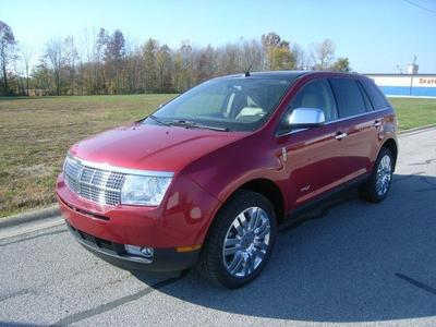 2010 Lincoln MKX  for sale VIN: 2LMDJ8JC9ABJ02287