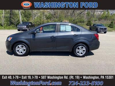 Chevrolet Sonic 2016 a la venta en Washington, PA