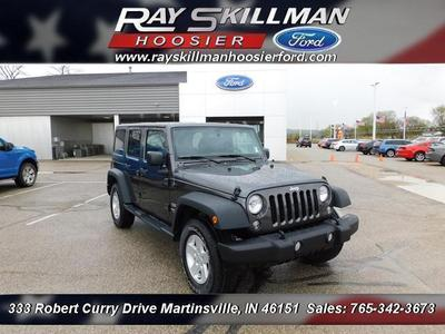 Jeep Wrangler Unlimited 2017 for Sale in Martinsville, IN