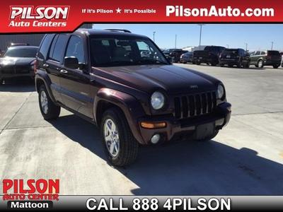 2004 Jeep Liberty Limited for sale VIN: 1J4GL58K34W135589