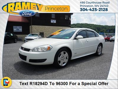2009 Chevrolet Impala Ss >> Used 2009 Chevrolet Impala Ss Sedan In Princeton Wv Near 24740 2g1wd57c491165734 Auto Com