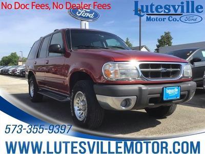 1999 Ford Explorer XLT for sale VIN: 1FMZU34E8XZA05774