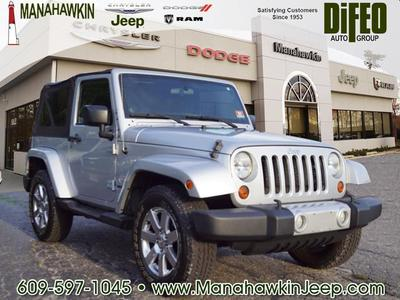 2012 Jeep Wrangler Sahara for sale VIN: 1C4AJWBG2CL102062