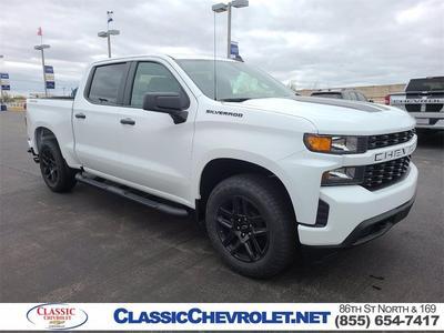 New 2021 Chevrolet Silverado 1500 Custom 1gcpybek2mz248314 Pickuptrucks Com