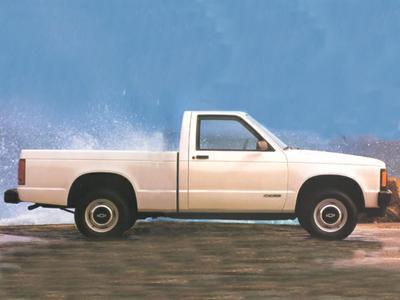 1993 Chevrolet S-10  for sale VIN: 1GCCS14Z6P8136800