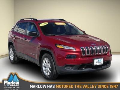 2016 Jeep Cherokee Sport for sale VIN: 1C4PJMAB4GW349527