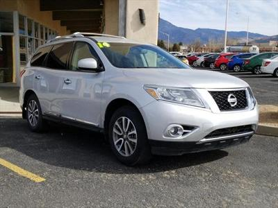 2014 Nissan Pathfinder SL for sale VIN: 5N1AR2MM2EC666586